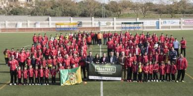 El Centre d´Esports Constantí presenta els equips del club davant la seva afició